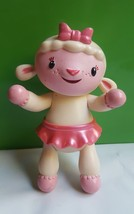 "Disney - Just Play Lambie Lamb Figurine Toy Cake Topper • pre-owned 5"" - $9.05"