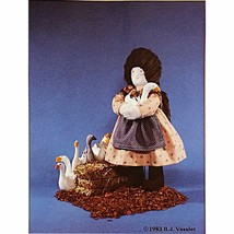 Country Cousins Doll Pattern Woman Geese Little Brown House Patterns c2336 - $7.69