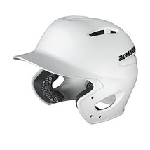 DeMarini Paradox Fitted Pro Batting Helmet Large 7 3/8 - 7 1/2, White, Large 7 3