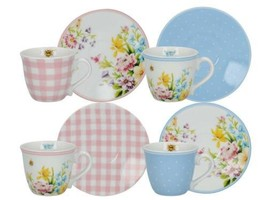 Creative Tops Katie Alice English Garden Floral-Printed Tasses à Express... - $51.12