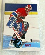 Topps Stadium Club 1995-96 Patrick ROY Hockey Card! Montreal Canadiens N... - $1.44