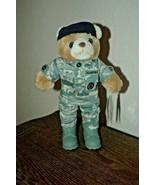 "Bear Forces of America 11.5"" Tall Camoflouge Stuffed USAF MP Teddy Bear ... - $19.79"