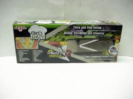 New Chef's ENVY, Master Cut 2 Kitchen Mandolin Slicer & Dicer by Euro-Go... - $11.69