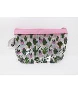 Just Be Zippered Purse Kit Cosmetic Travel Case - New - Cactus - $9.49