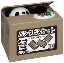 NEW Funny Itazura Panda Steal Money Saving Coin Box Piggy Bank F/S - $73.76