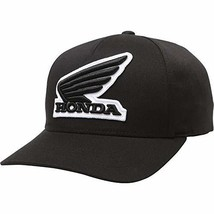Fox Racing Honda Flexfit Hat-Black-S/M - $31.65
