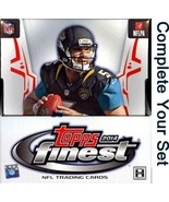2014 Topps Finest Football Singles - Complete Your Set - We combine ship... - $0.99
