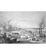 LOUISVILLE Kentucky - CIVIL WAR Era Print - $32.87