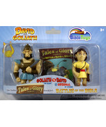 David And Goliath Action Figures Tales of Glory NEW 3 Set With Story Bib... - $12.76