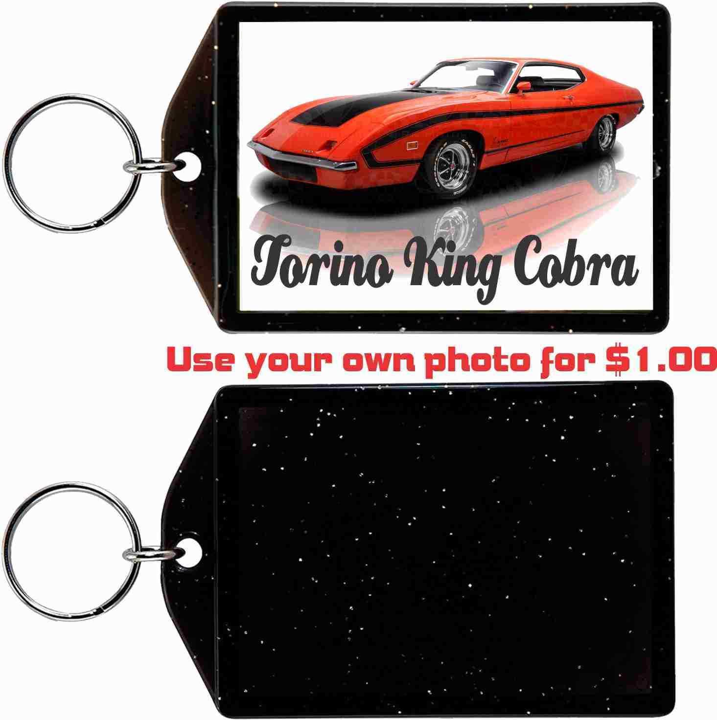 1970 FORD TORINO KING COBRA KEYCHAIN-FREE USA SHIP - $11.87