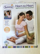 Summer Heart-to-Heart Digital Prenatal Listening Baby Monitoring System ... - $11.87