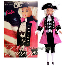 Year 1996 Barbie FAO American Beauties Collection 12 Inch Doll GEORGE WA... - $104.99