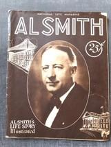 1928 AL SMITH'S Life Story Governor National LIFE MAGAZINE Circus Bellev... - $98.00