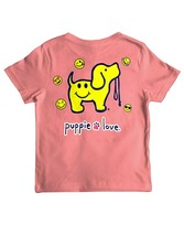 New PUPPIE LOVE SMILEY FACE  Pup  T SHIRT **YOUTH** - $23.99