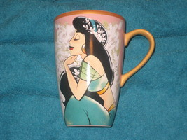 Disney Store Art of Jasmine Screen Art Coffee Cup Pink. Brand New. - $23.10