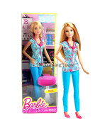 Year 2014 Barbie Career Series 12 Inch Doll - NURSE DGG41 with Stethoscope - $49.99