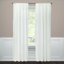 """Embossed Window Sheer White (54""""x84"""") - Threshold - $16.69"""
