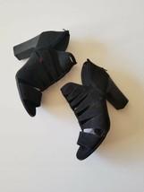Carlos by Carlos Santana Solera Dress Sandals Black 10M Cut Out Strappy ... - $39.29