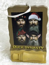 2014 Hallmark Duck Dynasty Christmas Tree Ornament Happy Happy Happy Hol... - $12.09