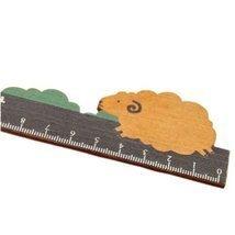 Set of 2 Lovely ZAKKA Cute Lamb Rulers Wooden Rulers 15Cm Rulers/Measuri... - €8,89 EUR