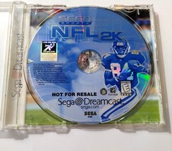 NFL 2K (Sega Dreamcast, 1999) - $4.75