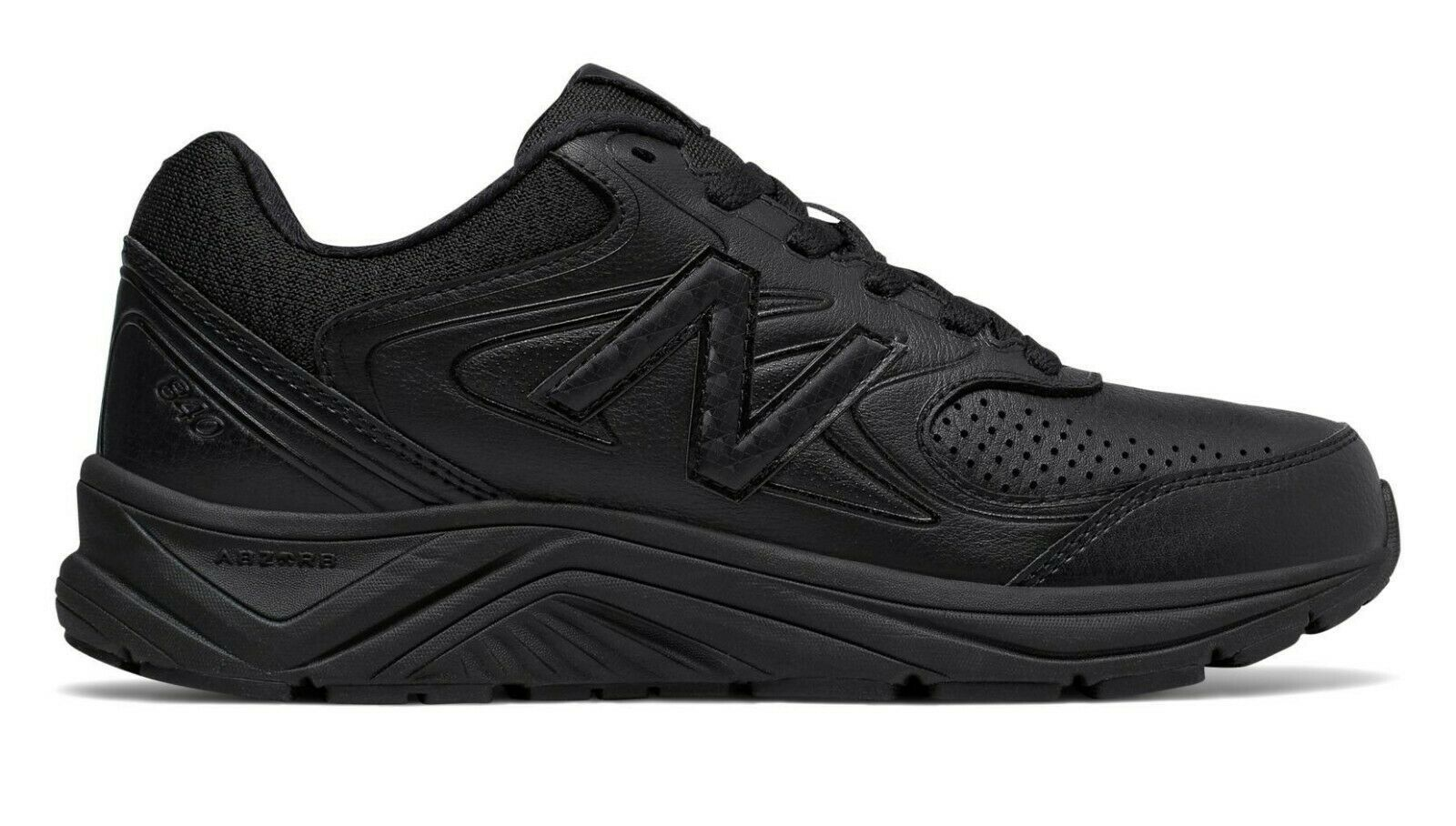 New Balance 840v2 Womens Black Wide Running Walking Sneakers Shoes Size WW840BK2 - $149.99