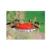 "Woodlink Audubon NAH1 8-3/4"" Hummingbird Feeder 6 Ports & Built In Ant G... - $33.00"