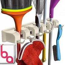 Berry Ave Broom Holder Wall Mount and Garden Tool Organizer, Closet Stor... - €19,73 EUR