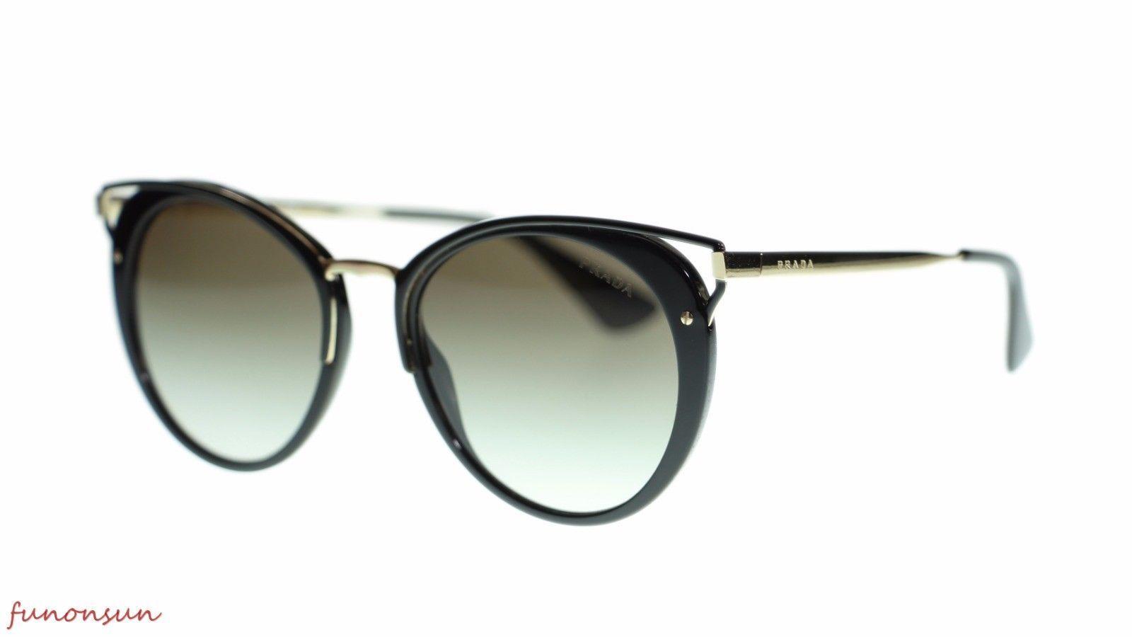 d132229d786bdd Prada Phantos Womens Sunglasses PR66TS 1ABA7 Black Grey Gradient 54mm -   231.83