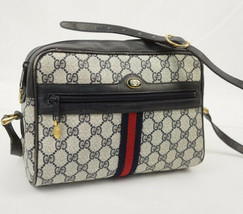 Auth Gucci GG Supreme Shoulder Bag Multi Accessory Collection Sherry Lin... - $737.55