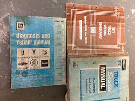 1977 GMC TRUCK ALL MODELS 7500 THRU 9500 Service Shop Repair Manual SET ... - $188.09