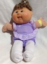 2011 Plush Cabbage Patch Baby girl Doll tutu ballet ballerina Satin pony... - $18.69