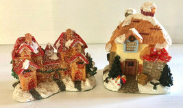 K's Collection Miniature Winter Cottage and Mansion Table Top Decor Coll... - $20.00