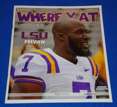 NEW WHERE Y'AT MAGAZINE LEONARD FOURNETTE COVER LSU TIGERS JACKSONVILLE ... - $6.95