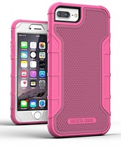 iPhone 8 Plus Tough Case w/ Built in Screen Protector, American Armor(He... - $9.94