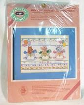 Vintage Dimensions Caballito Acta de Nacimiento Punto Cruz 1987 - $14.84
