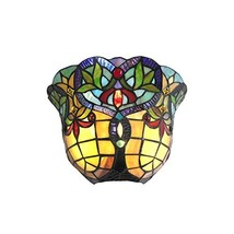 Chloe CH33389VR12-WS1 Wall Sconce, One Size, Multicolor - $95.37