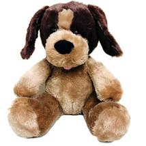 "Build A Bear Dog 2014 Plush 9.5"" Stuffed Brown Tan Seated Puppy Toy Anim... - $21.75"