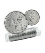 1999 Canadian 25Cent February: Etched In Stone Millennium 25¢ Original C... - $29.02