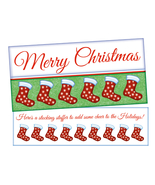 A Stocking Stuffer ~ Christmas Holiday Gift Card or Money Holder - $4.75