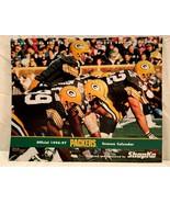GREEN BAY PACKERS 1996~1997 Season Calendar...Favre~White - $8.90
