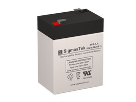 CooPower CP6-4.5 SLA battery Replacement by SigmasTek - $14.31