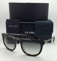Neu Prada Sonnenbrille Spr 13P NAI-0A7 51-22 Schwarz & Havanna Schildkrö... - $310.89