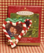 HALLMARK KEEPSAKE PHOTO HOLDER CHRISTMAS ORNAMENT 2000 - $5.93
