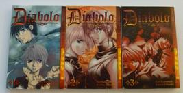 Diabolo Manga Volumes Vol 1-3 English Rare 2 First Print TokyoPop Kaoru ... - $14.84