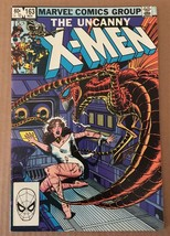 Uncanny X-Men #163 Marvel Comic Book from 1982 VF Condition  - $5.45
