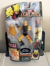 Marvel Legends Nemesis BAF Lower Torso Yellow Daredevil Walmart Hasbro 2007 - $21.03