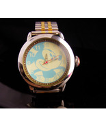 Vintage unusual mickey watch - Hadley Roma - S11 - water resistant runs ... - $75.00