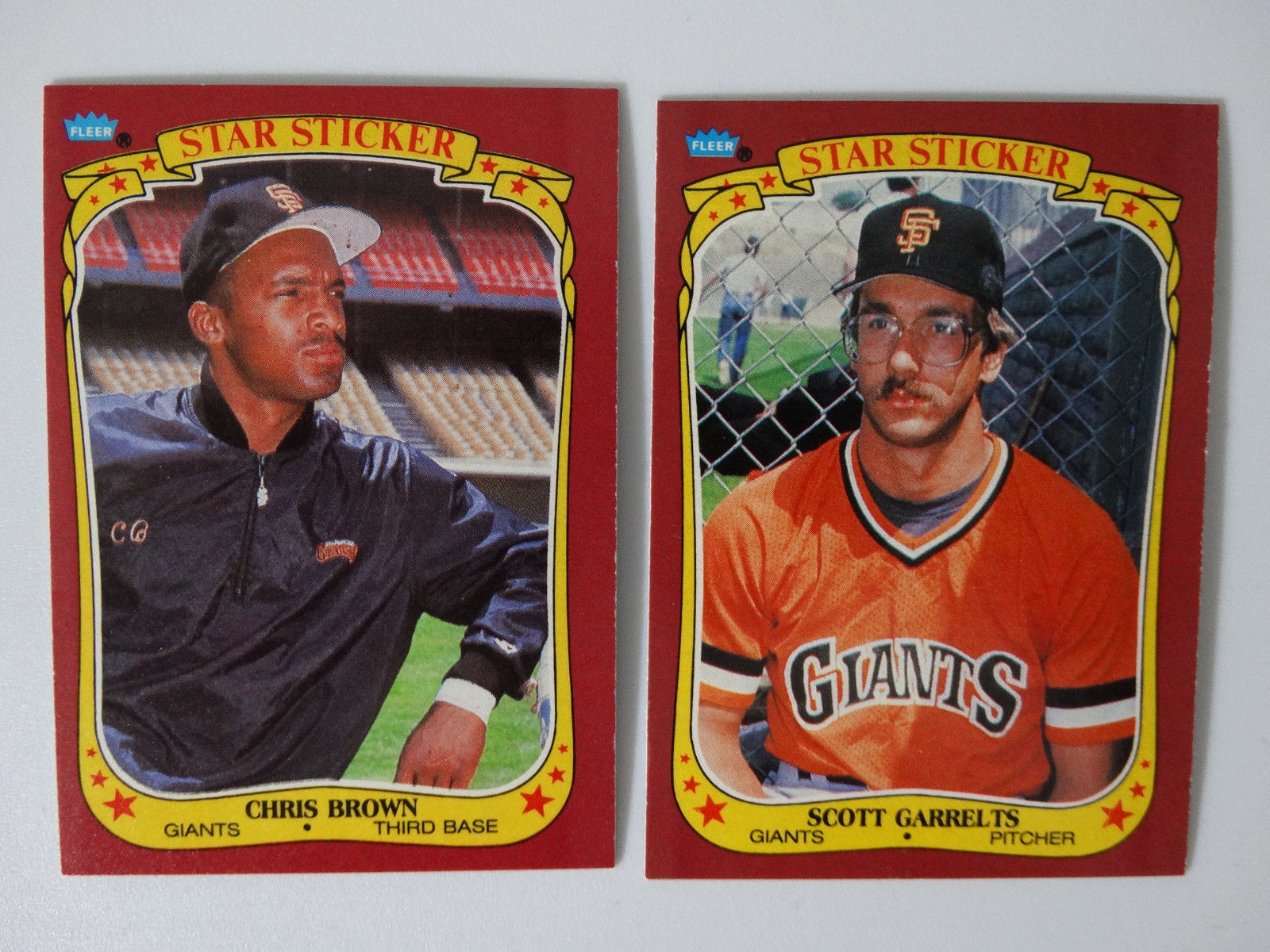 1986 Fleer Star Stickers San Francisco And 50 Similar Items