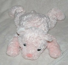 Ty Baby CUDDLECUB Pink Bear Rattle Plush Stuffed Animal 2001 - $19.79